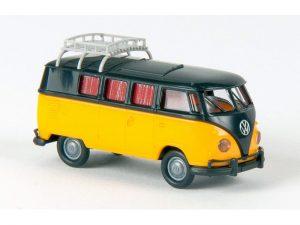31564 brekina camper zwart geel