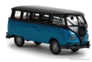 31834 Brekina T1 blauw zwart
