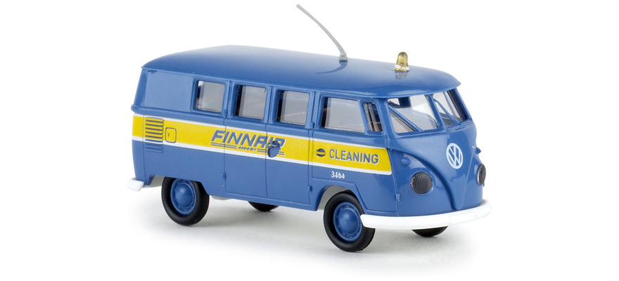 Brekina 31584 Volkswagen T1 finnair cleaning
