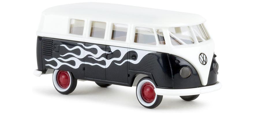 Brekina 31588 VW T1 Flames