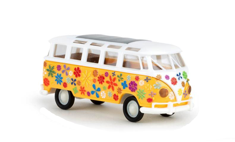Brekina 31839 flower power VW T1