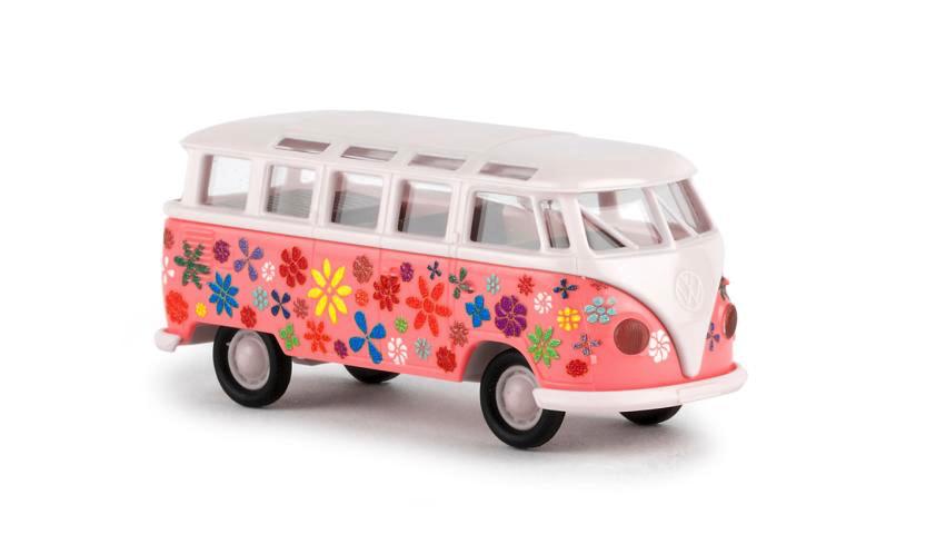 Brekina 31840 flower power Volkswagen t1
