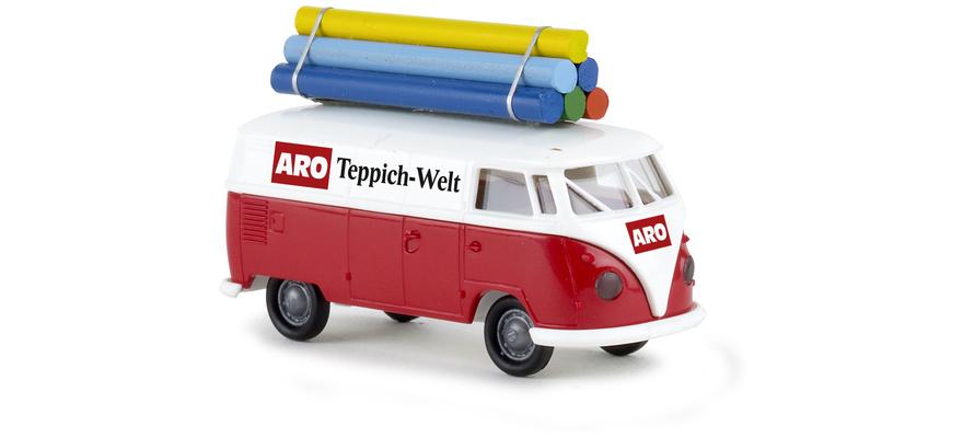 Brekina 32703 VW T1 mit teppiche
