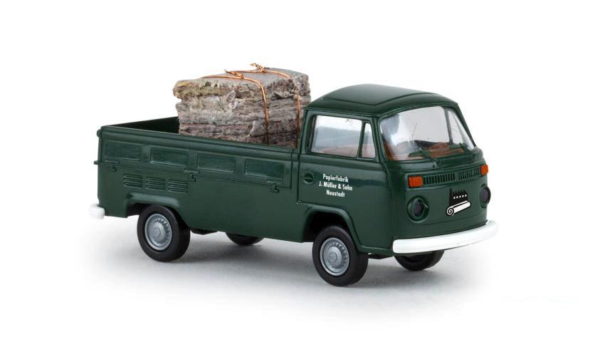 Brekina 33929 volkswagen T2 Papirfabrik
