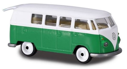 Majorette 243A Vw T1 special Muller green