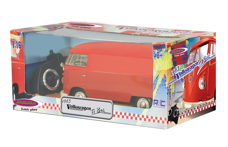 VW T1 Panel van scale 1:16, radio controlled