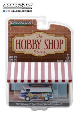 Volkswagen Model : T2 Panel Van Omschrijving : 1971 Volkswagen T2 Panel Van with Surfboards *The Hobby Shop Series 4*