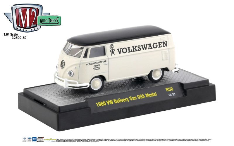 M2 machines 32500-50 1960 vw delivery van usa model