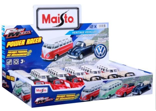 24001 Maisto assortibox VWt1 and beetle