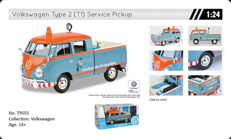 79555 Volkswagen t1 pickup doka