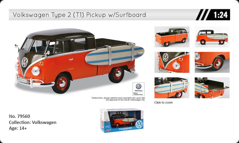 79560 volkswagen t1 pickup surf