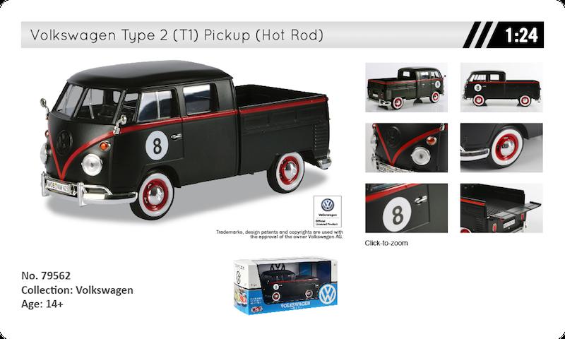 79562 volkswagen T1 pickup