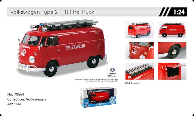 79564 volkswagen T1 feuerwehr
