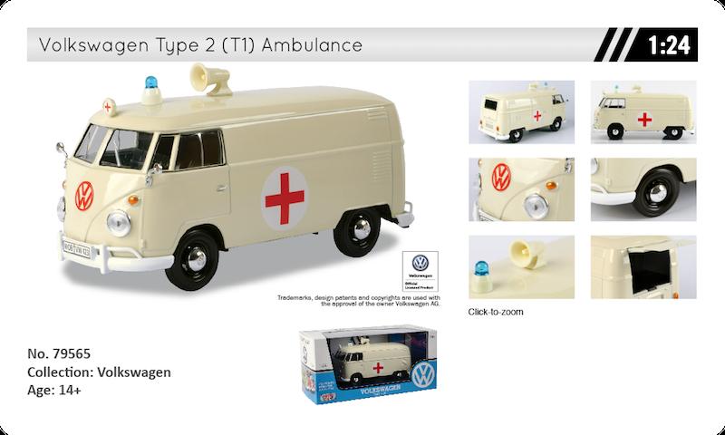 79565 volkswagen T1 ambulance