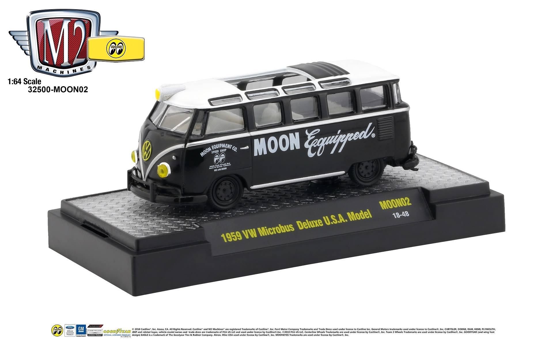 M2 machines Volkswagen Microbus 1959 32500-MOON02