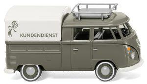 """VW T1 Doppelkabine - """"VW Kundendienst"""" Artikel-Nr 078905"""