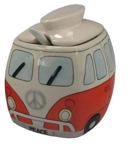 VW Volkswagen sugar bowl