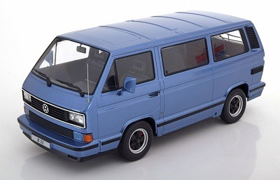 180222 KK scale Porsche B32 VW T3 1984 light blue metallic