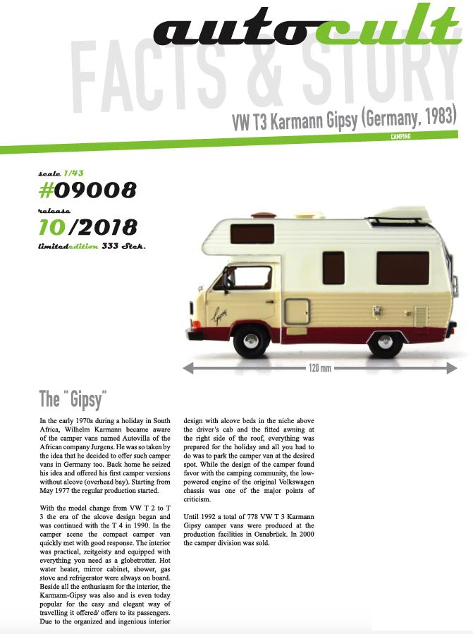 Gipsy camper autocult oktober 2018