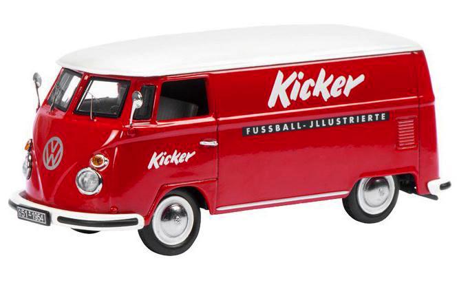 Schuco 450369200 VW T1 Kicker 1op43