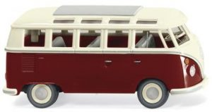 wiking vw T1 samba purpurrot 079722