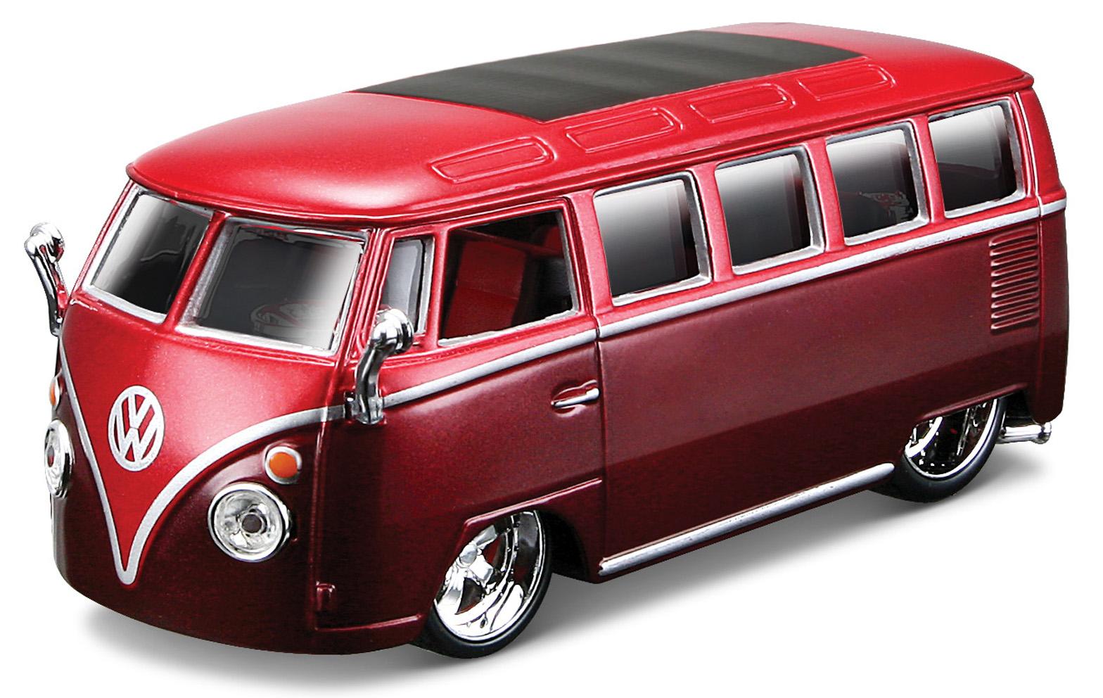 18-4200R Burago VW t1 samba 1op32