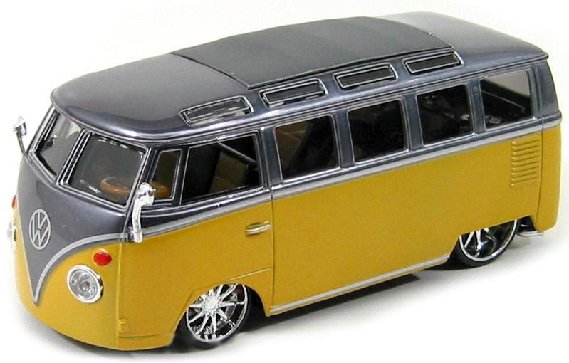 18-4200Y Burago samba van T1 1op32