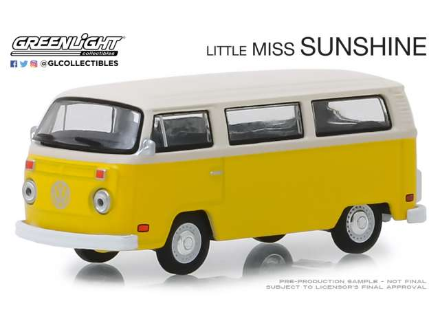 GL44820C Volkswagen T2 liitle miss sunshine hollywood series 1op64