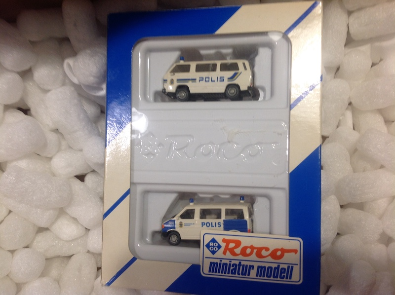 Roco 2520 set met T3 en T4