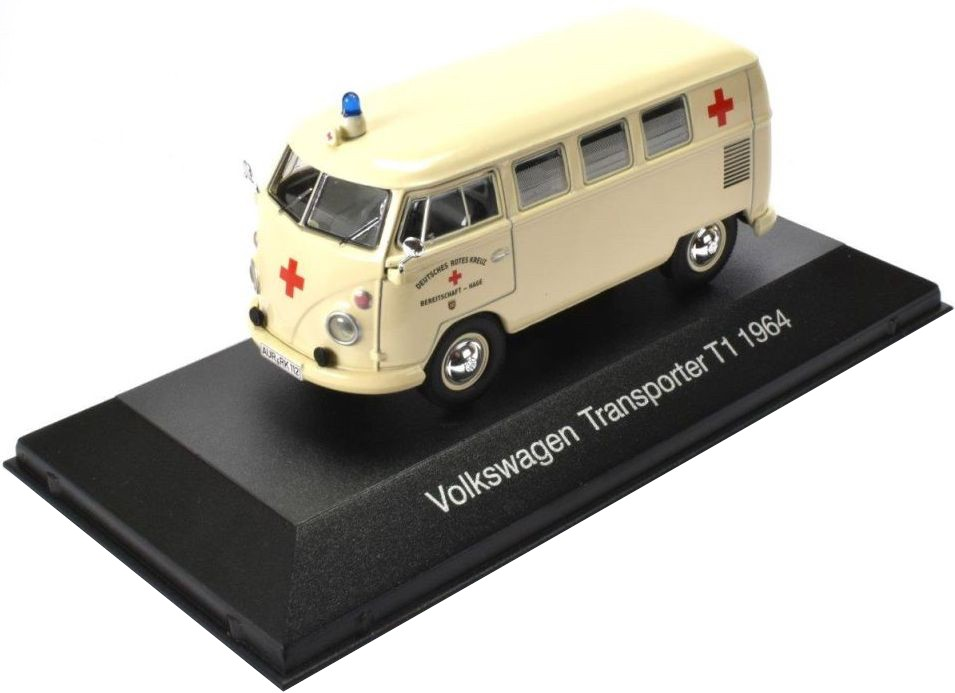 atlas editions vw T1 ambulance 1964