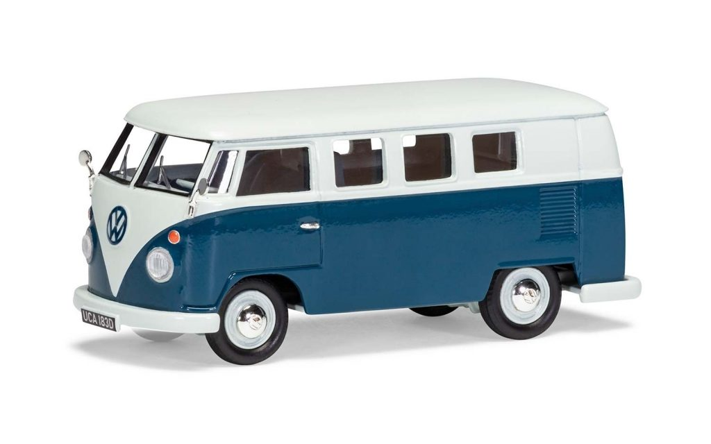 Volkswagen Type 2 Camper, Sea Blue and Cumulus White