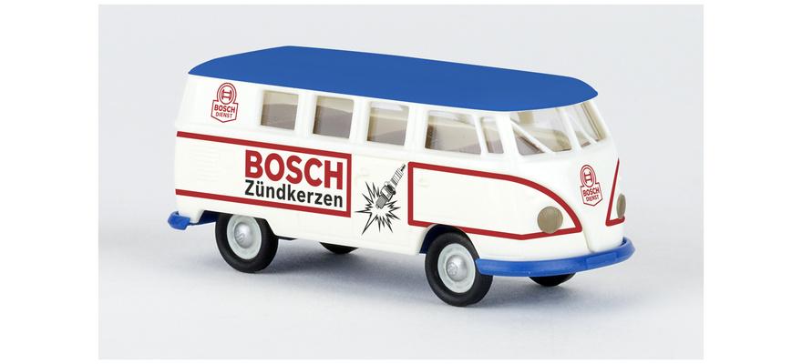 """BREKINA VW T1b Kombi """"Bosch Zündkerzen"""""""