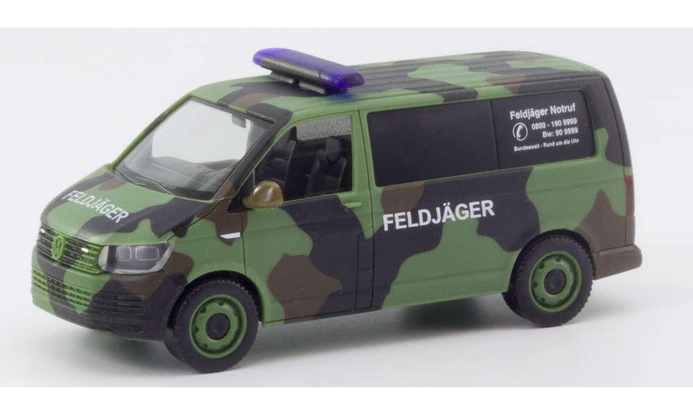 "VW T6 BUS FLECKTARN ""BUNDESWEHR / FELDJÄGER"" 700719"