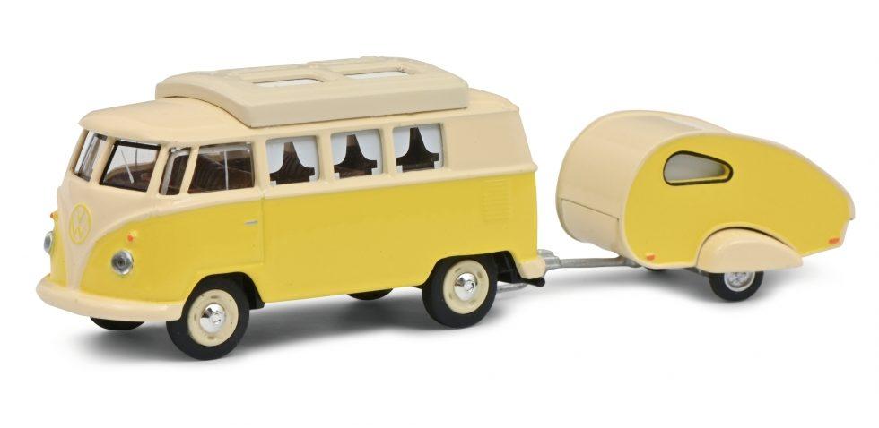VW T1 Camper w.caravan 1:64 Article number: 452026700